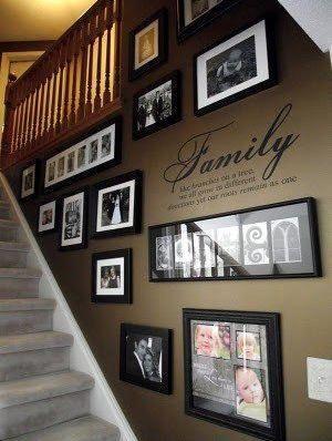 Фото на стене