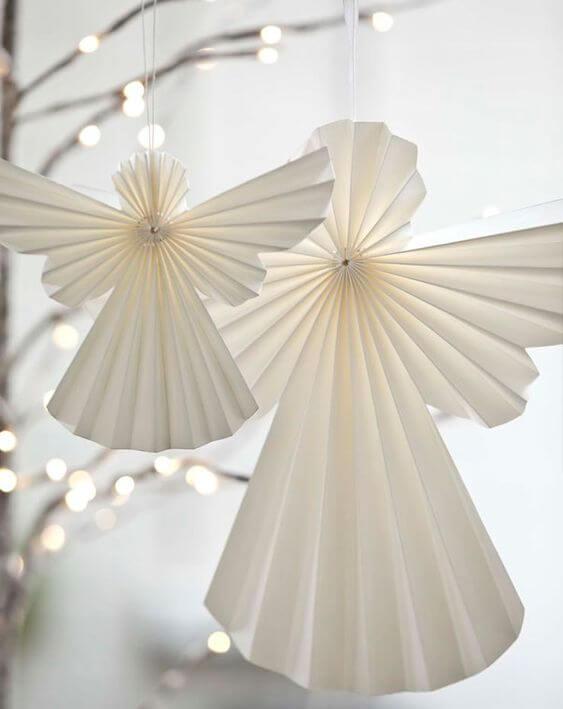 Новогодний декор из бумаги