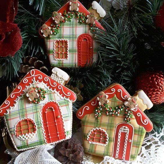 Новогоднее имбирное  печенье и пряники