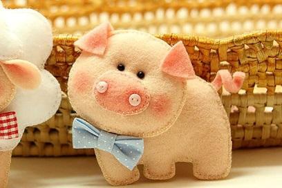 Текстильные свинки