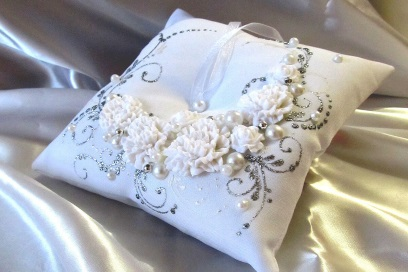 Свадебные подушечки для колец