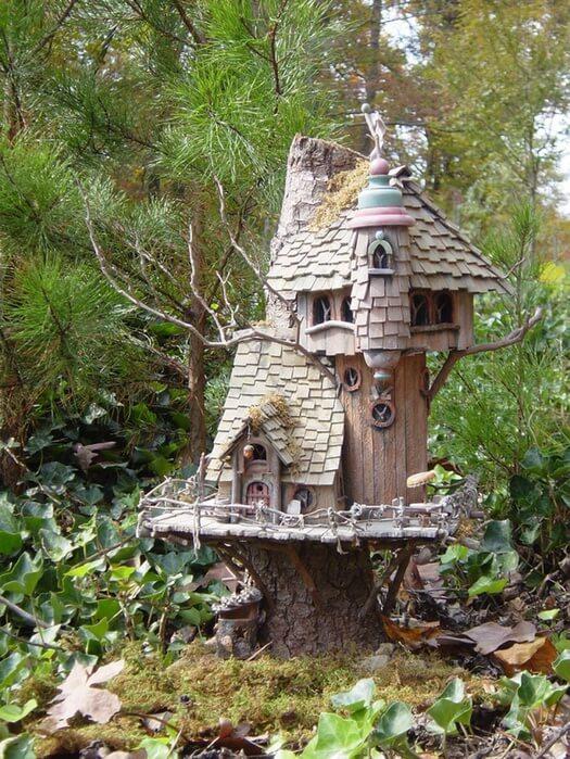 Декоративный домик для фей