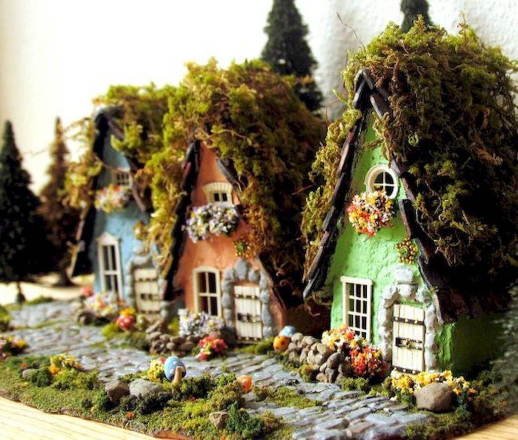 Декоративный домик для фей и гномов