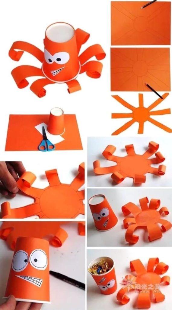 Поделки из пластиковых и бумажных стаканчиков
