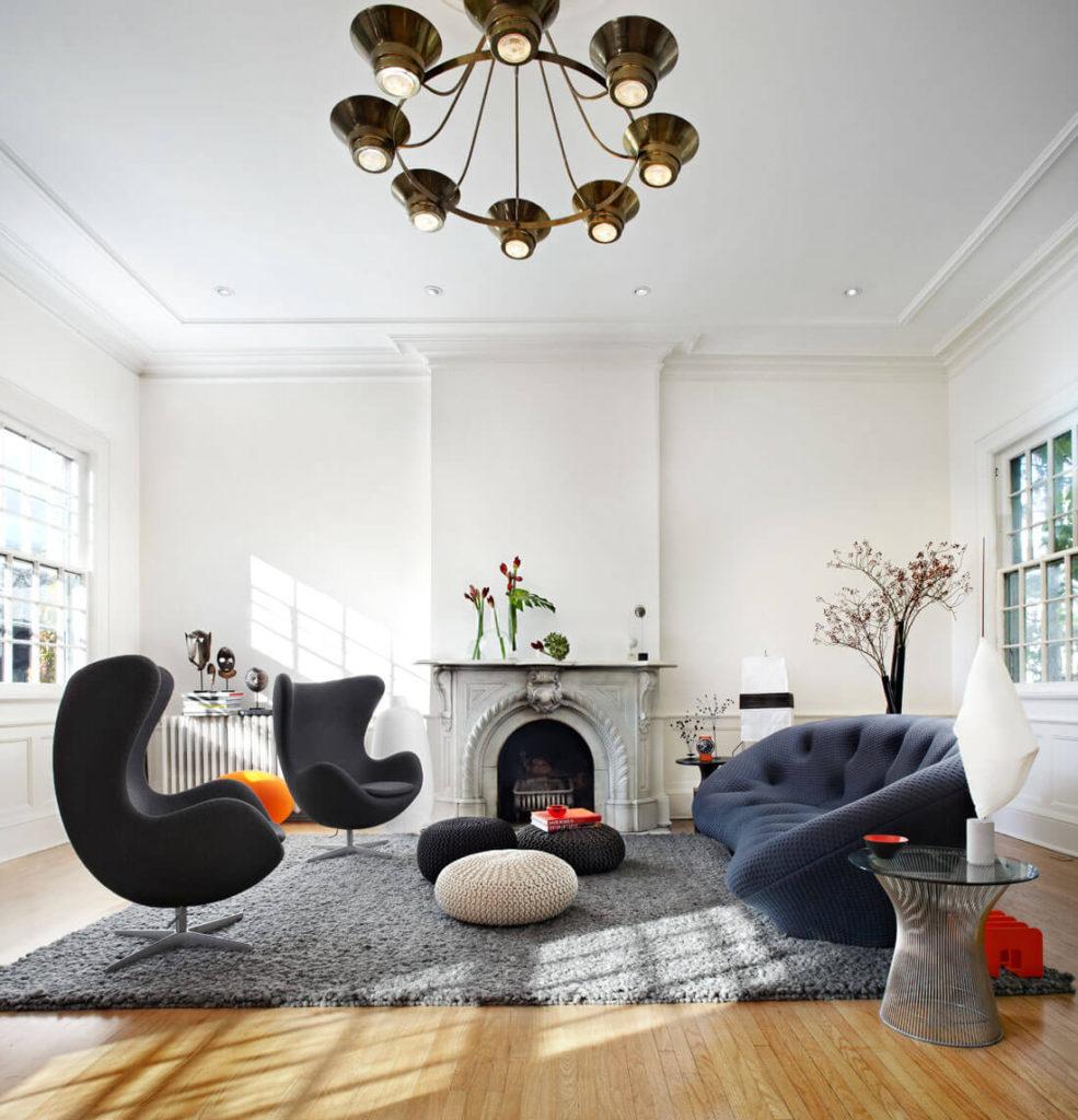 Дизайн интерьера в стиле электика