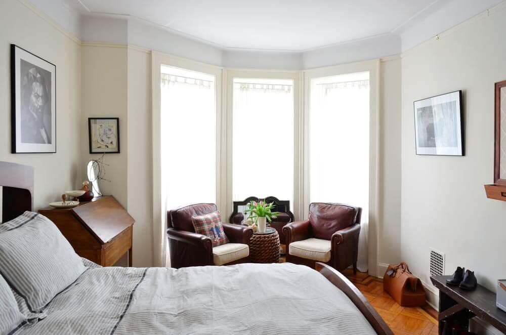 Спальня в стиле эклектики