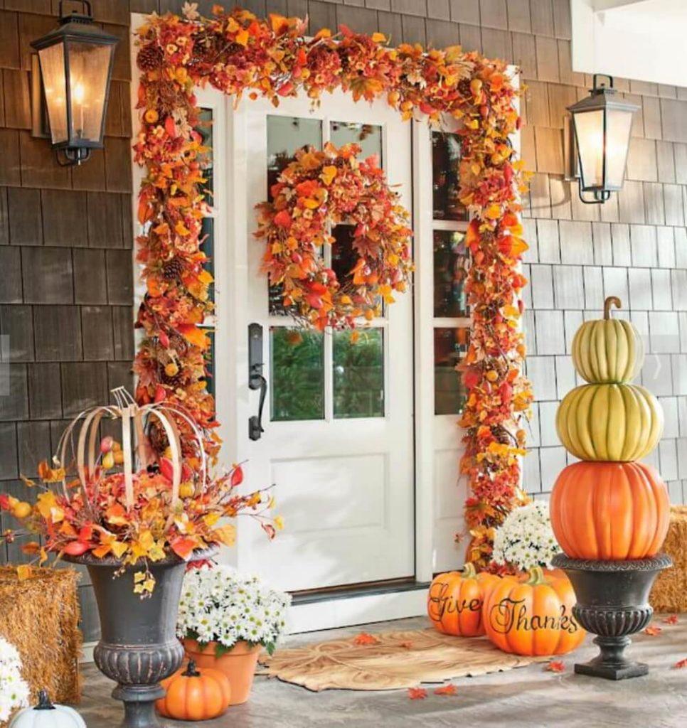 Осенний декор для дома