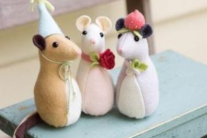 Мягкая игрушка Крыса своими руками