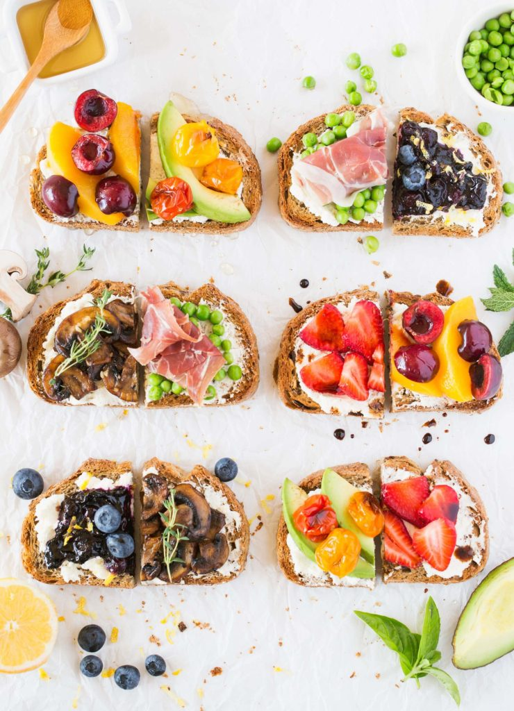 Как украсить бутерброд