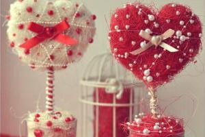 Топиарии сердечком