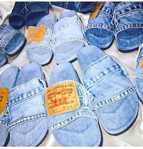 Как использовать старые джинсы
