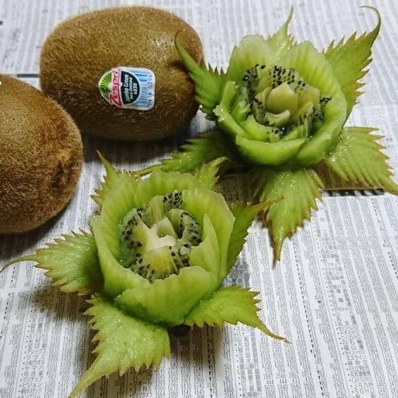 Карвинг - вырезание фруктов и овощей