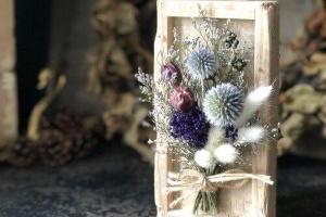Сухоцветы в интерьере