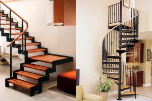 Виды лестниц в частном доме
