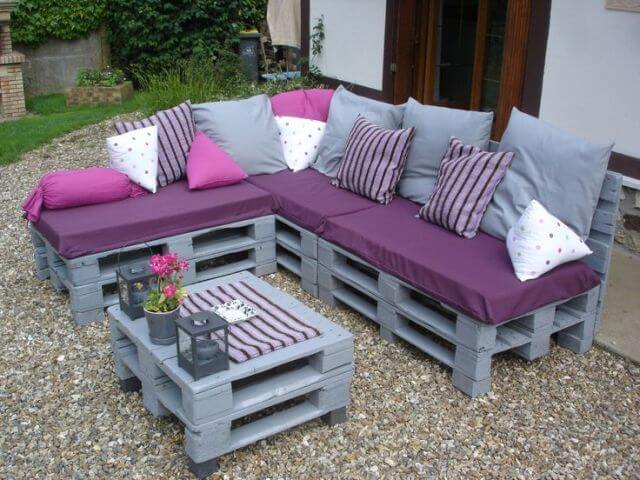 Мебель из деревянных поддонов