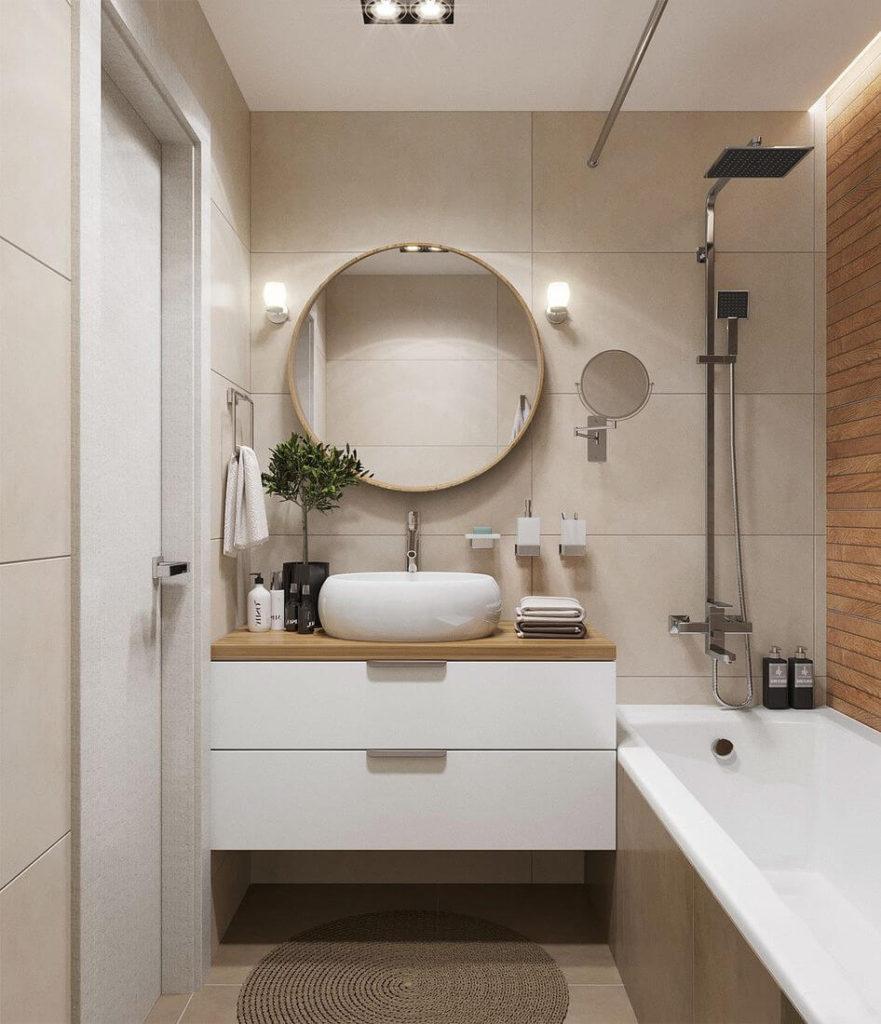 Декор ванной комнаты аксессуары