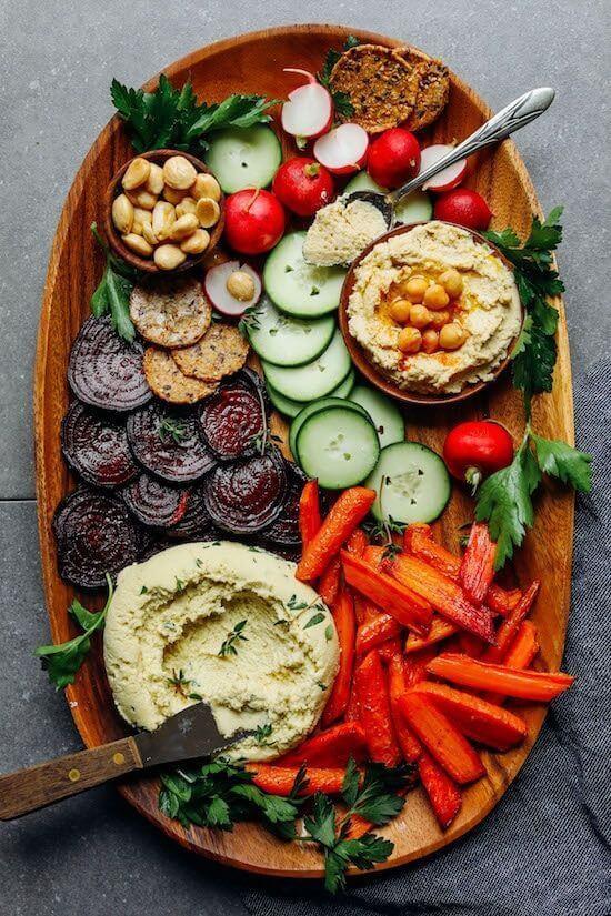 Как красиво подать овощи и фрукты