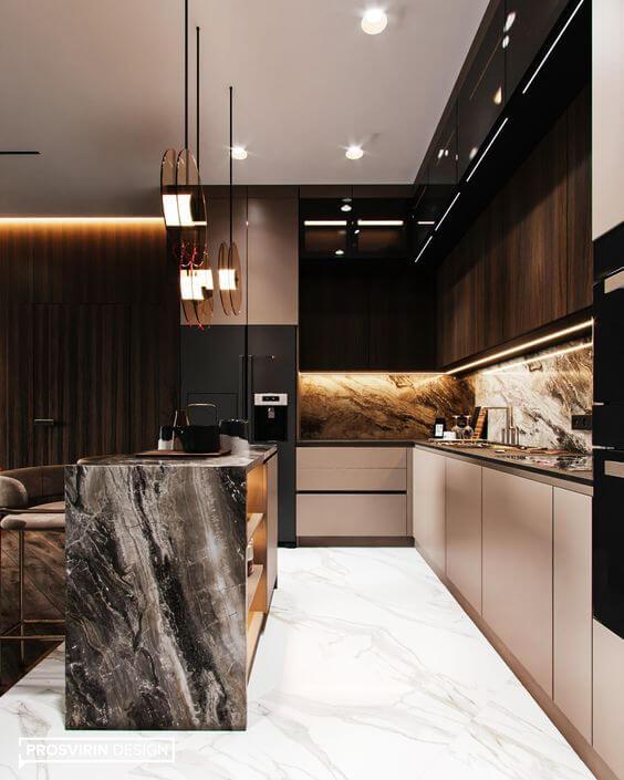 Дизайн кухни - современные идеи