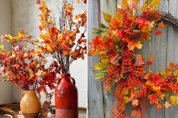 Осенние в декоре интерьера
