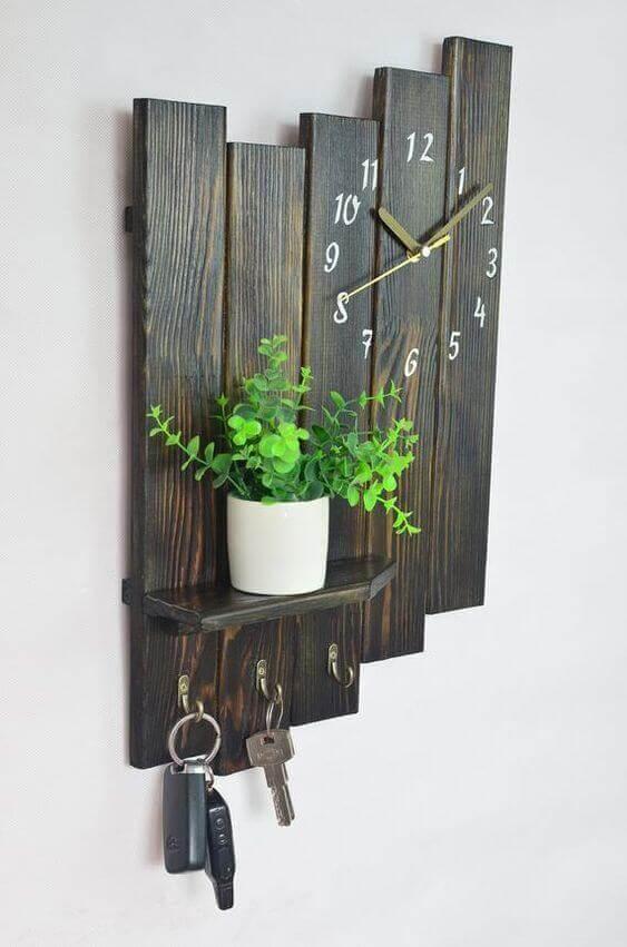 Декор из дерева для дома