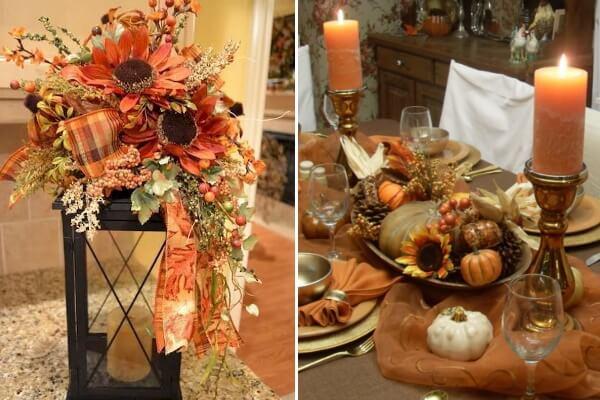 Осенний декор на стол