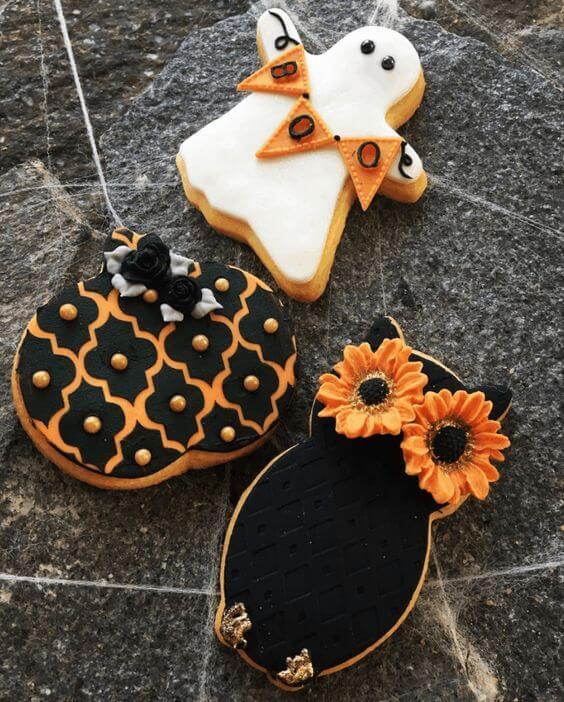 Пряники и печенье на Хелоуин
