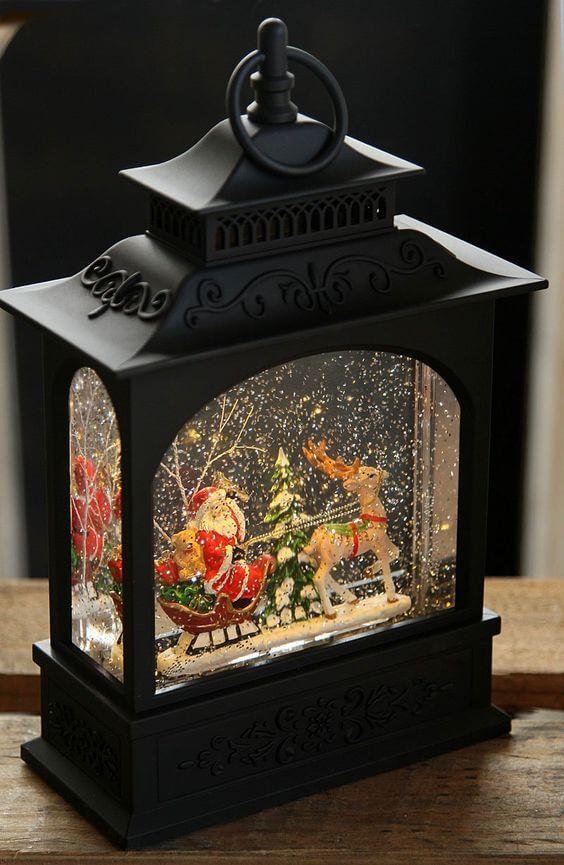 Новогодние рождественские фонарики своими руками