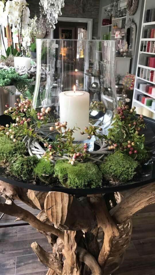 Рождественский декор интерьера
