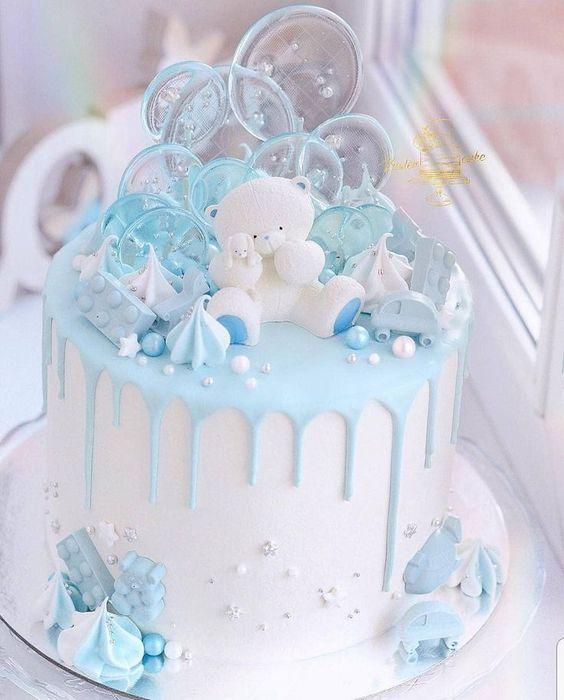Торт на детский день рождения