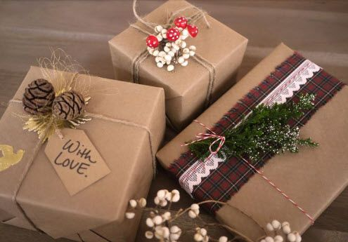 Как упаковать подарок на новый год