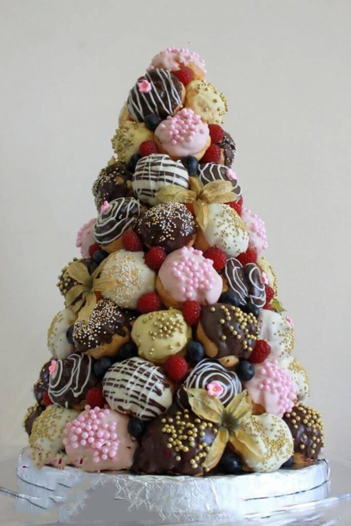 Съедобная елка из пирожных