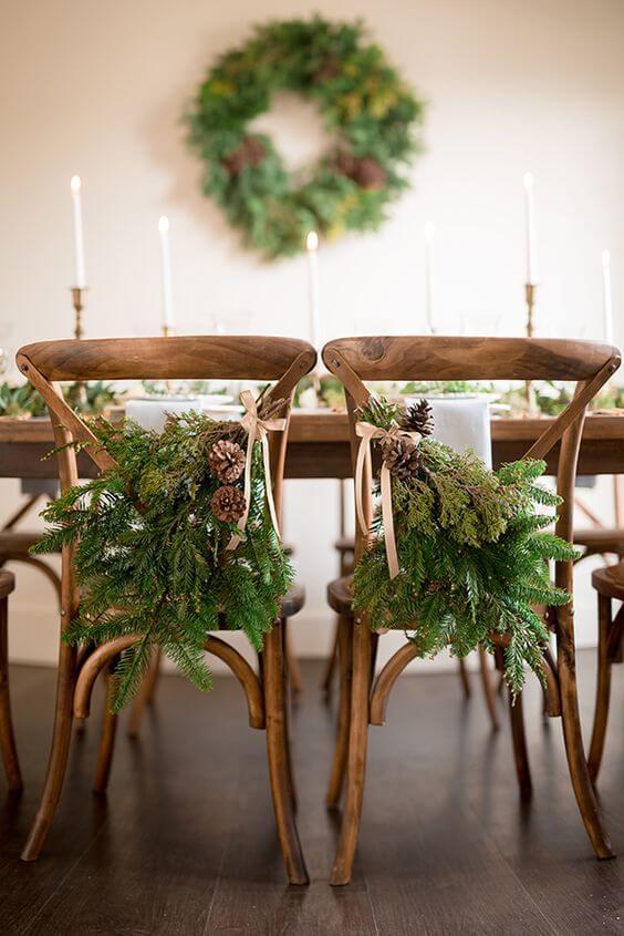 Зимняя свадьба: оформление