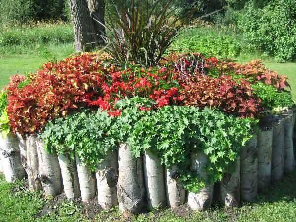 Декоративный забор для цветника