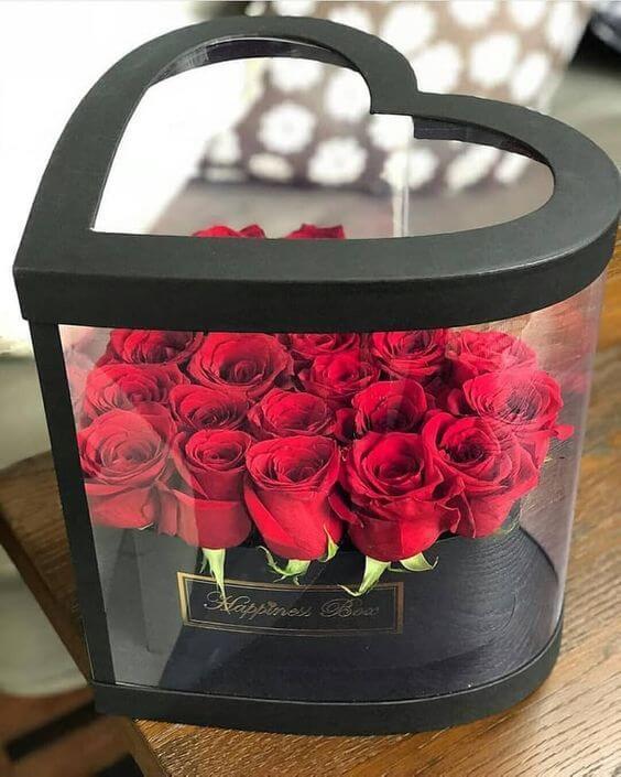 Идеи букетов на день Влюбленных