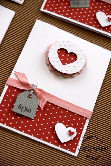 Открытки на День Влюбленных своими руками