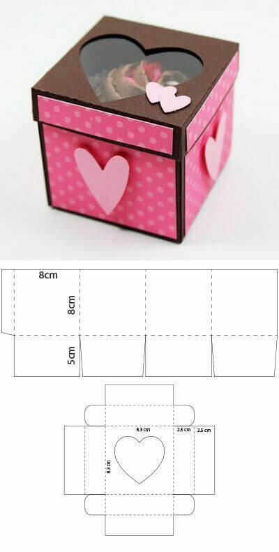 Упаковка подарков на День Влюбленных своими руками