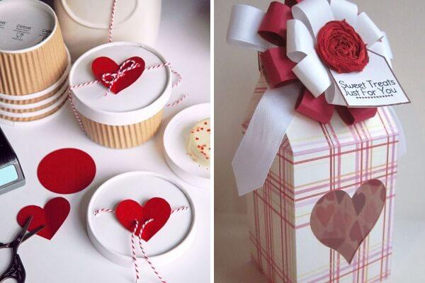 Идеи упаковки подарков на День Святого Валентина