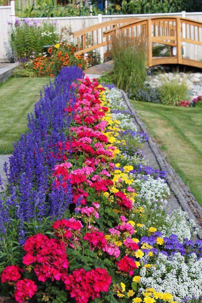 Цветники и клумбы в ландшафтном дизайне