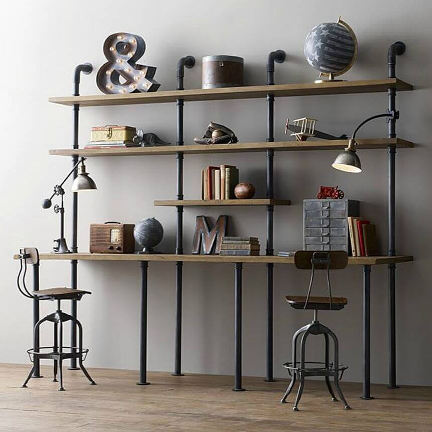 Мебель из труб