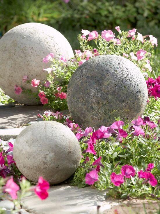 Поделки из цемента для сада своими руками