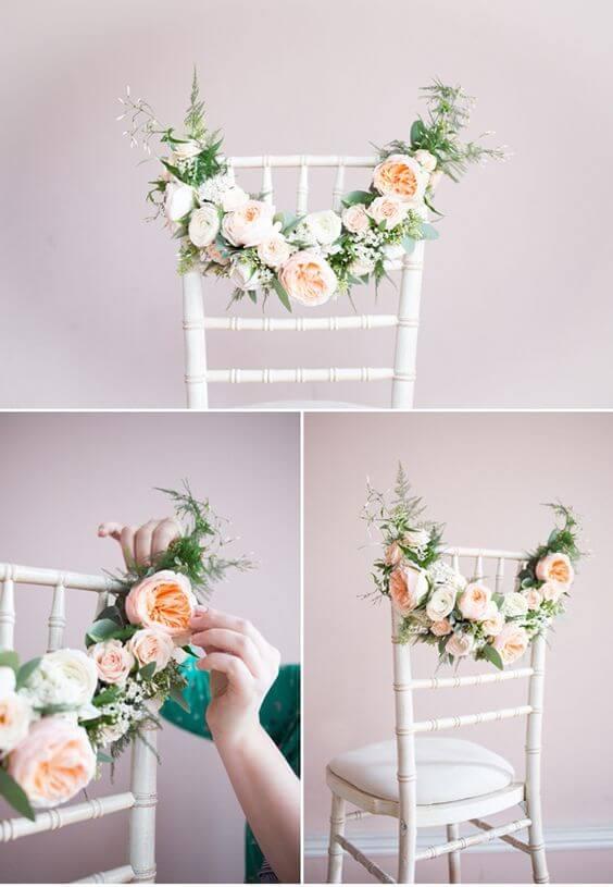 Свадебные стулья