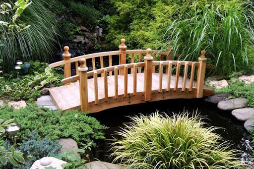 Декоративные мостики