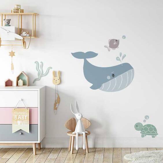 Детский декор стен
