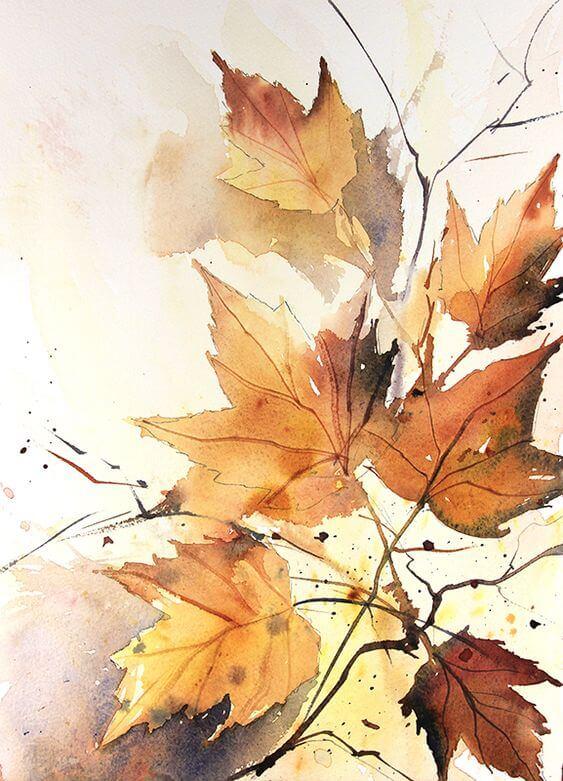 Осенние картинки для творчества