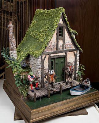 Сказочный домик своими руками